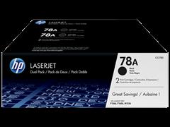 Toner HP CE278AD (črna), dvojno pakiranje, original