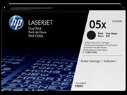 Toner HP CE505XD (črna), dvojno pakiranje, original