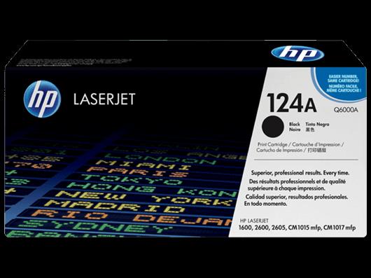 Toner HP Q6000A / 124A (črna), original