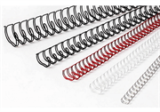 Žične špirale, 7,9 mm, srebrna