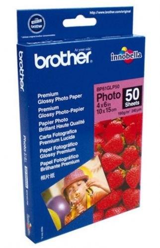 Foto papir Brother A6, 50 listov, 190 gramov