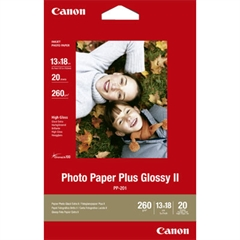 Foto papir Canon PP-201, 13 x 18 cm, 20 listov, 260 gramov