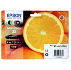 Komplet kartuš Epson 33 (C13T33374010) (BK/PBK/C/M/Y), original