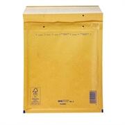 Kuverta D št.4, oblazinjena, 180 x 260 mm, rjava, 100 kosov