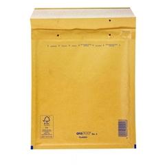 Kuverta H št.8, oblazinjena, 270 x 360 mm, rjava, 10 kosov