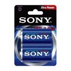 Baterija Sony D-velikost LR20 (AM1B2D), 2 kosa