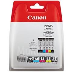 Komplet kartuš Canon PGI-570 + CLI-571 (BK/C/M/Y), original
