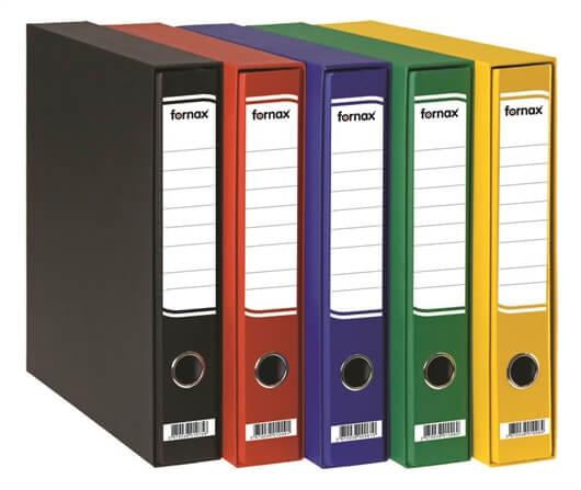 Registrator Fornax A4/60 v škatli (črna), 15 kosov