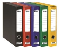 Registrator Fornax A4/60 v škatli (rumena), 15 kosov