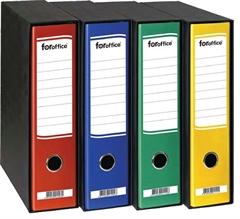 Registrator Foroffice A4/80 v škatli (rumena), 1 kos