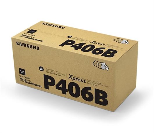 Toner Samsung CLT-P406B (SU374A) (črna), dvojno pakiranje, original