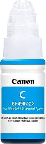 Črnilo za Canon GI-490 (0664C001AA) (G1400/2400/3400) (modra), original