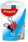 Spenjalke za papir binder Maped, 15 mm, 12 kosov