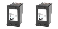 Komplet kartuš za HP C9362EE nr.336 (črna), dvojno pakiranje, kompatibilen