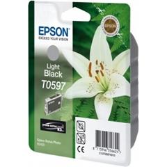 Kartuša Epson T0597 (svetlo črna), original