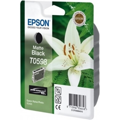 Kartuša Epson T0598 (matt črna), original