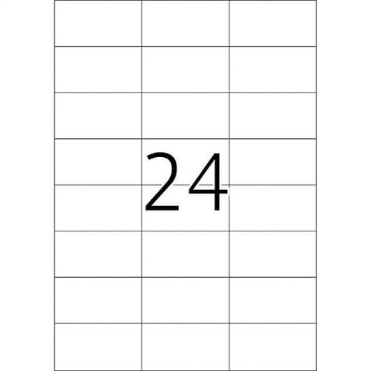 Etikete 474, 70 x 37 mm