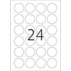 Etikete 415, premer 40 mm