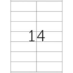 Etikete 477, 105 x 41 mm