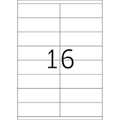Etikete 423, 105 x 33,8 mm