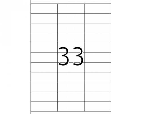 Etikete 421, 70 x 25,4 mm