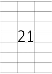 Etikete 481, 70 x 41 mm
