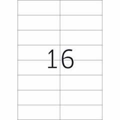 Etikete 484, 105 x 37 mm