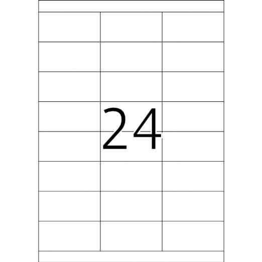Etikete 664, 70 x 33,8 mm