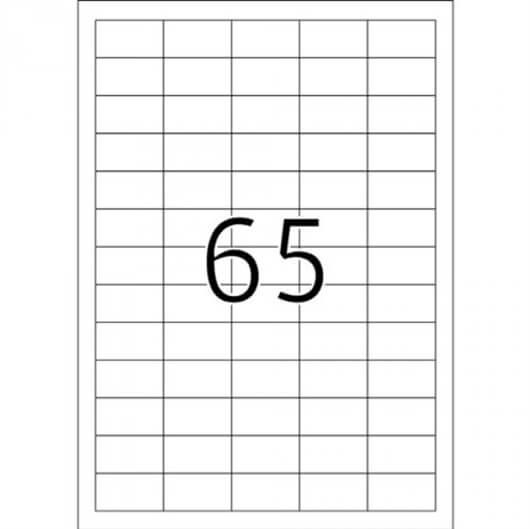 Etikete 666, 38 x 21,2 mm