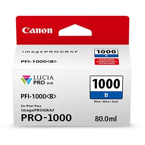 Kartuša Canon PFI-1000 BL (modra), original