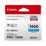 Kartuša Canon PFI-1000 C (modra), original
