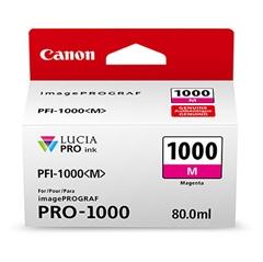Kartuša Canon PFI-1000 M (škrlatna), original