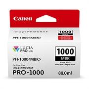 Kartuša Canon PFI-1000 MBK (matt črna), original