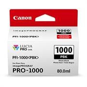 Kartuša Canon PFI-1000 PBK (foto črna), original
