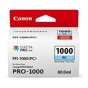 Kartuša Canon PFI-1000 PC (foto modra), original