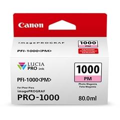 Kartuša Canon PFI-1000 PM (foto škrlatna), original