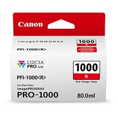Kartuša Canon PFI-1000 R (rdeča), original