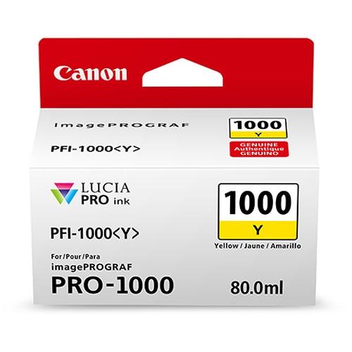 Kartuša Canon PFI-1000 Y (rumena), original