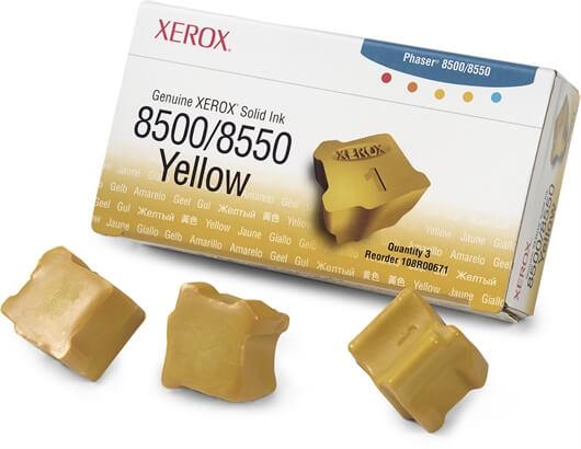Tiskalni vosek Xerox 108R00671 (rumena), original