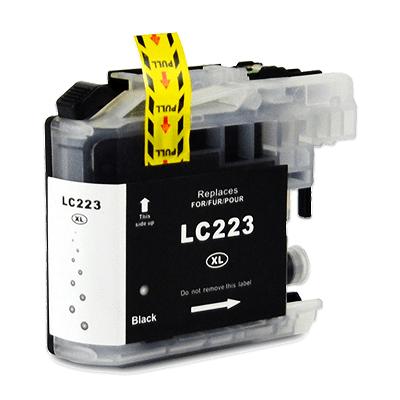 Kartuša za Brother LC223BK (črna), kompatibilna