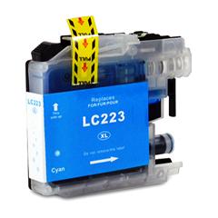 Kartuša za Brother LC223C (modra), kompatibilna