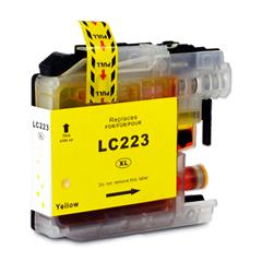 Kartuša za Brother LC223Y (rumena), kompatibilna
