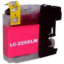 Kartuša za Brother LC225XLM (škrlatna), kompatibilna