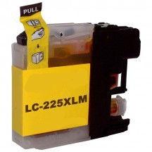Kartuša za Brother LC225XLY (rumena), kompatibilna