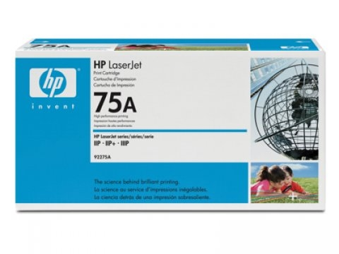 Poškodovana embalaža: toner HP 92275A (črna), original