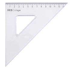 Trikotnik 45°, 14 cm