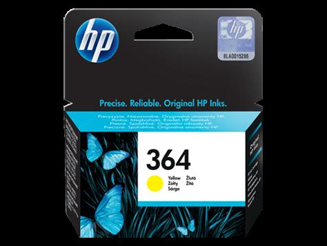 Poškodovana embalaža: kartuša HP CB320EE nr.364 (rumena), original