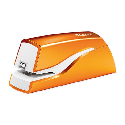 Spenjač Leitz 5566, metalik oranžna, baterijski