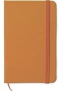 Blok A6 Notebook Lux, oranžna, brez črt