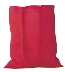 Vrečka bombažna Gisee, rdeča